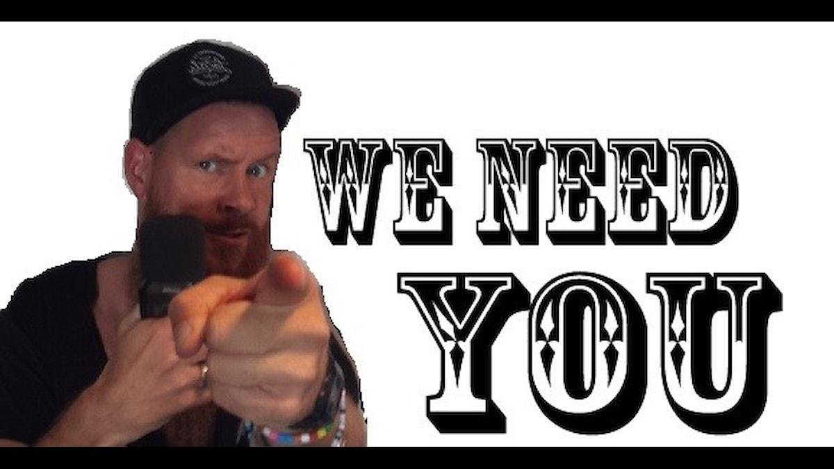 Christer behöver dig!