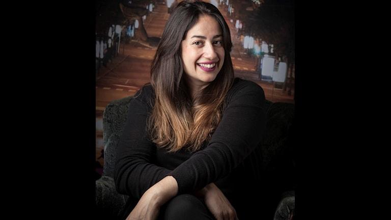 porträtt på Nanna Jamshidi