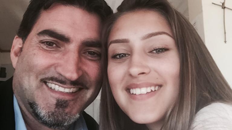 Marco Stella och hans dotter