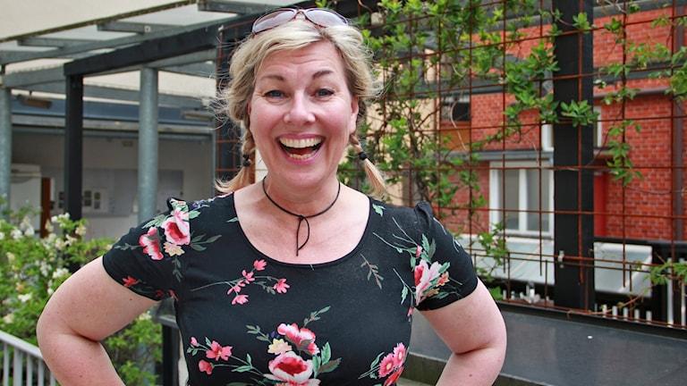 Porträtt Lena Frisk