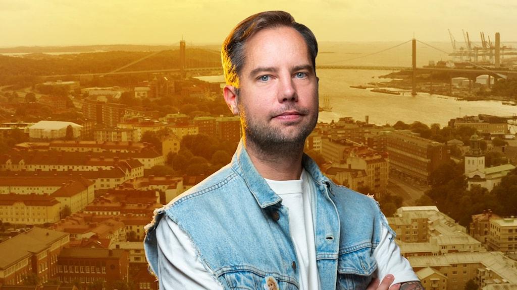Bilden föreställer Rasmus Persson.