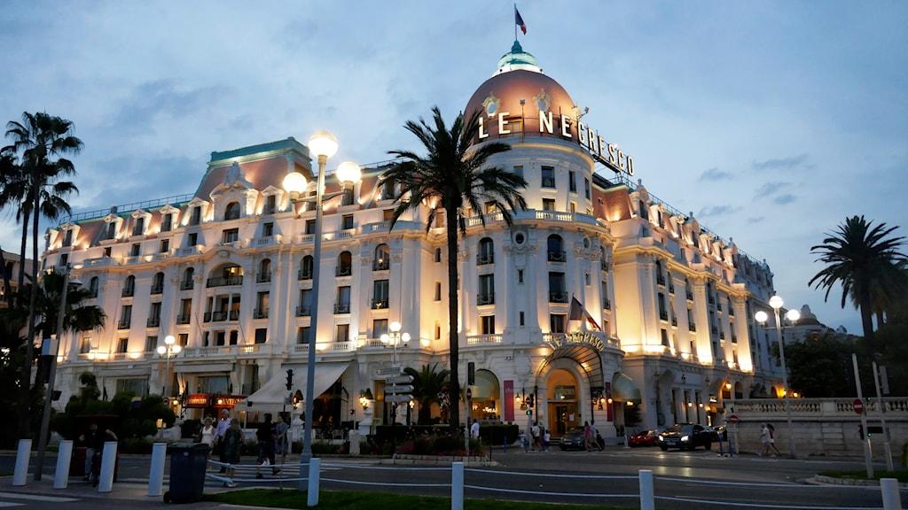 Ett hotell.