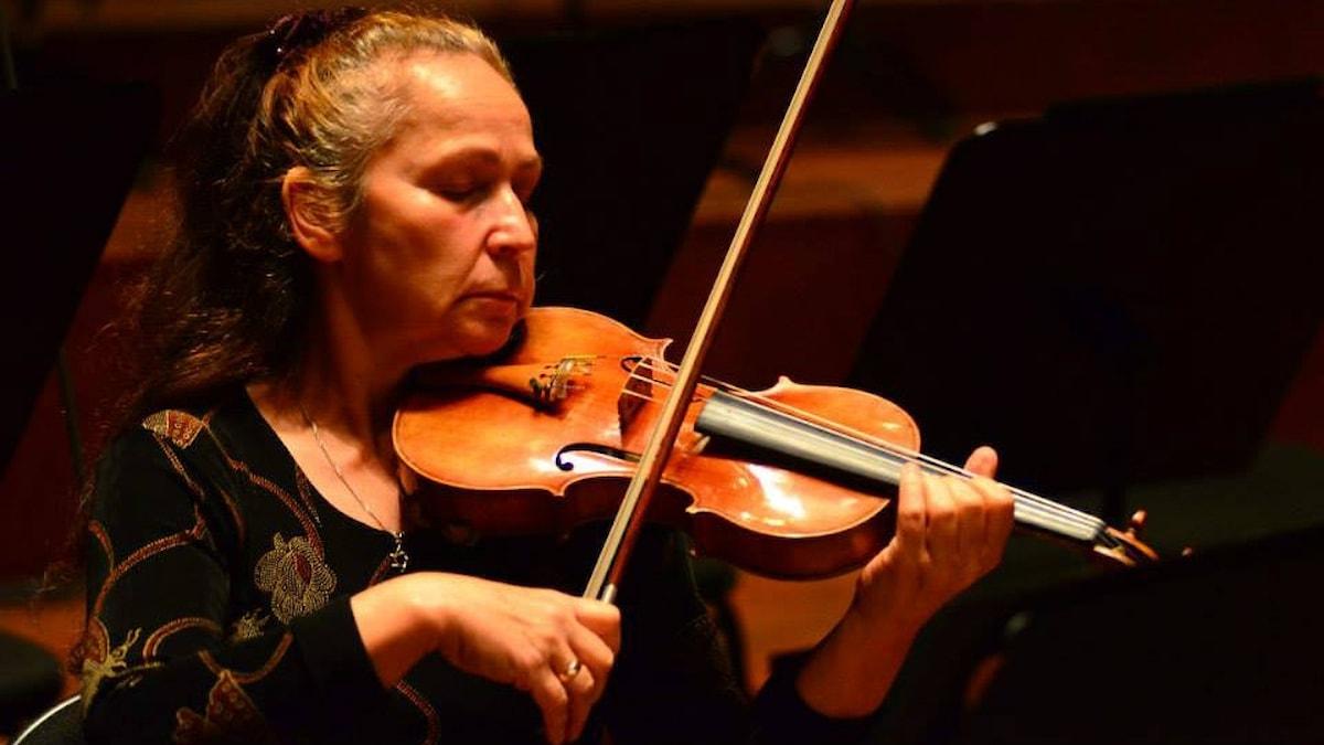 Violinisten Ludmila Spektor. Foto: Privat.