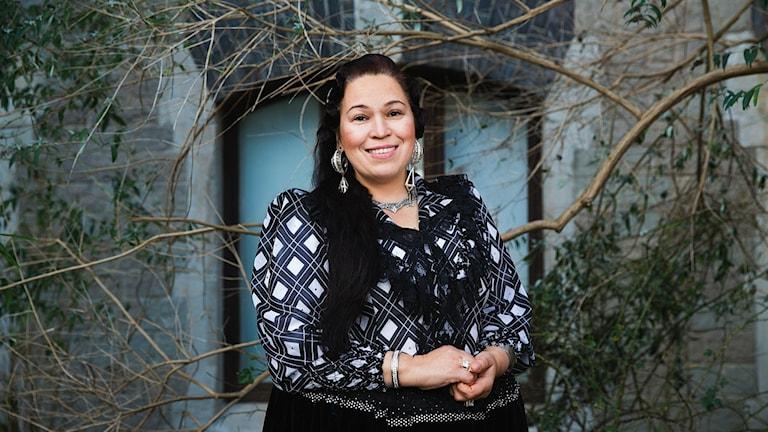 Diana Diana Nyman, romsk sakkunnig som slängdes ut från Sheratons frukostmatsal