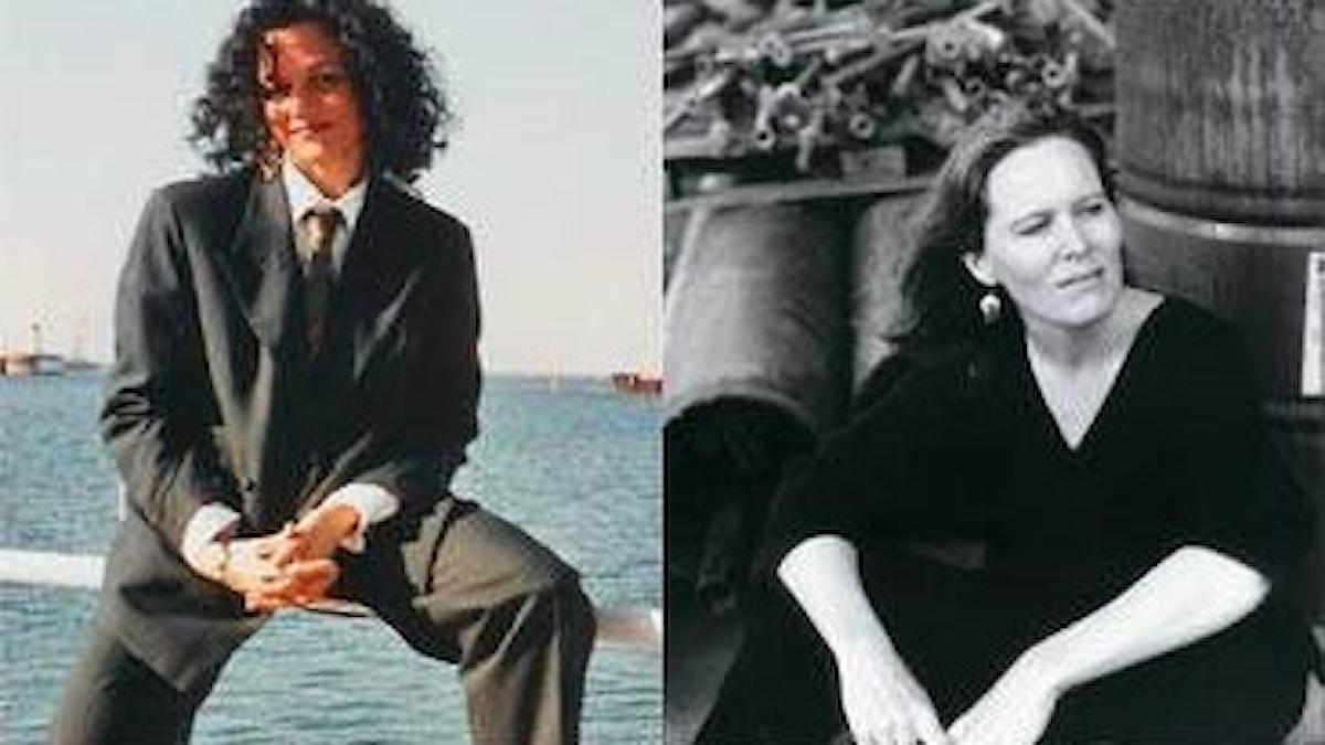 Lesbiska sopranerna Stella Scott och Kristin Norderval