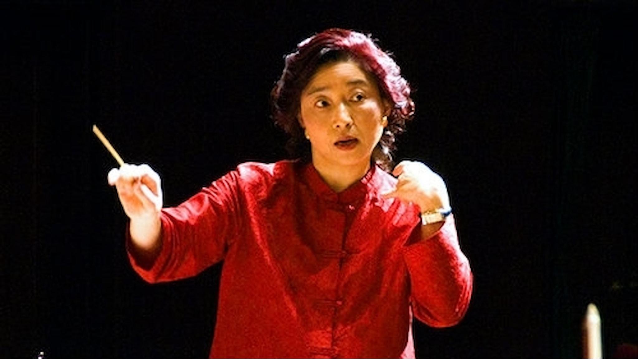 Taiwanfödda Apo-Hsu var chefdirigent i Women's Philharmonic 1997 - 2003. Foto: Alton Thompson
