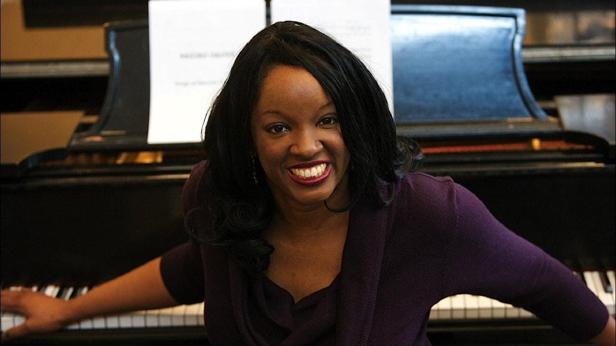 Tonsättaren Nkeiru Okoye. Foto: Phil Marino