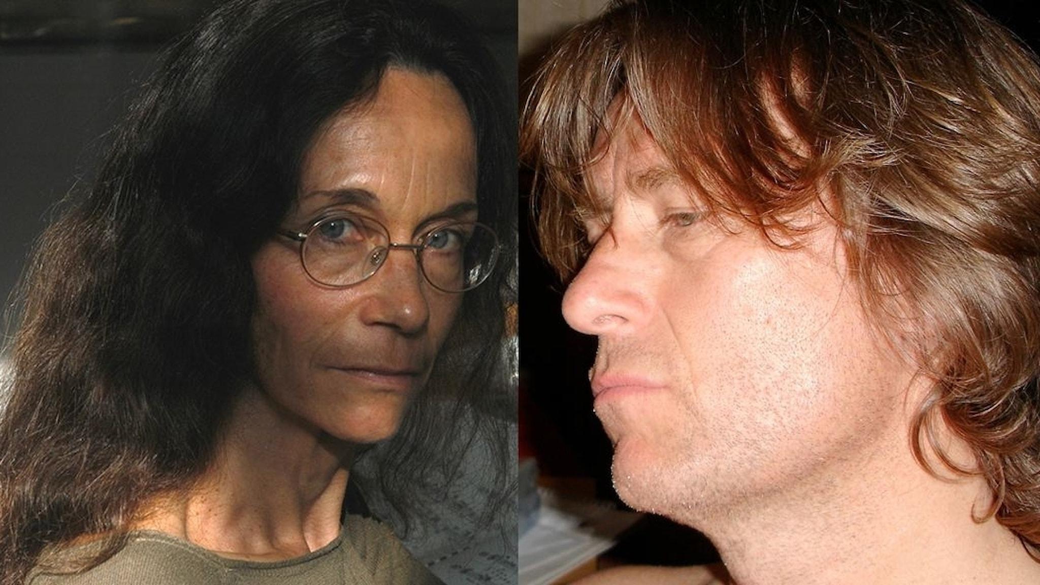 Tonsättarna Madeleine Isaksson och Anders Hillborg. Foto: Jean-Louis Garnell / Anders Hillborg