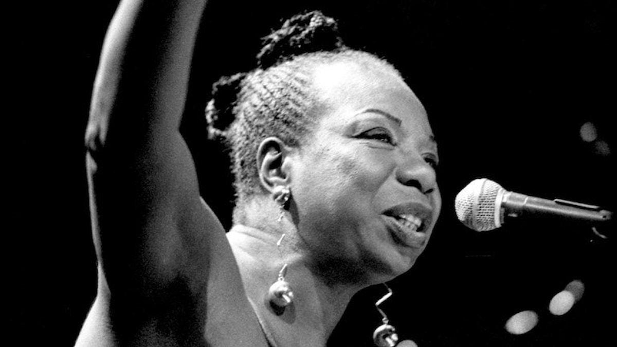 Nina Simone på scen 1992. Foto: Anders Roth SR.