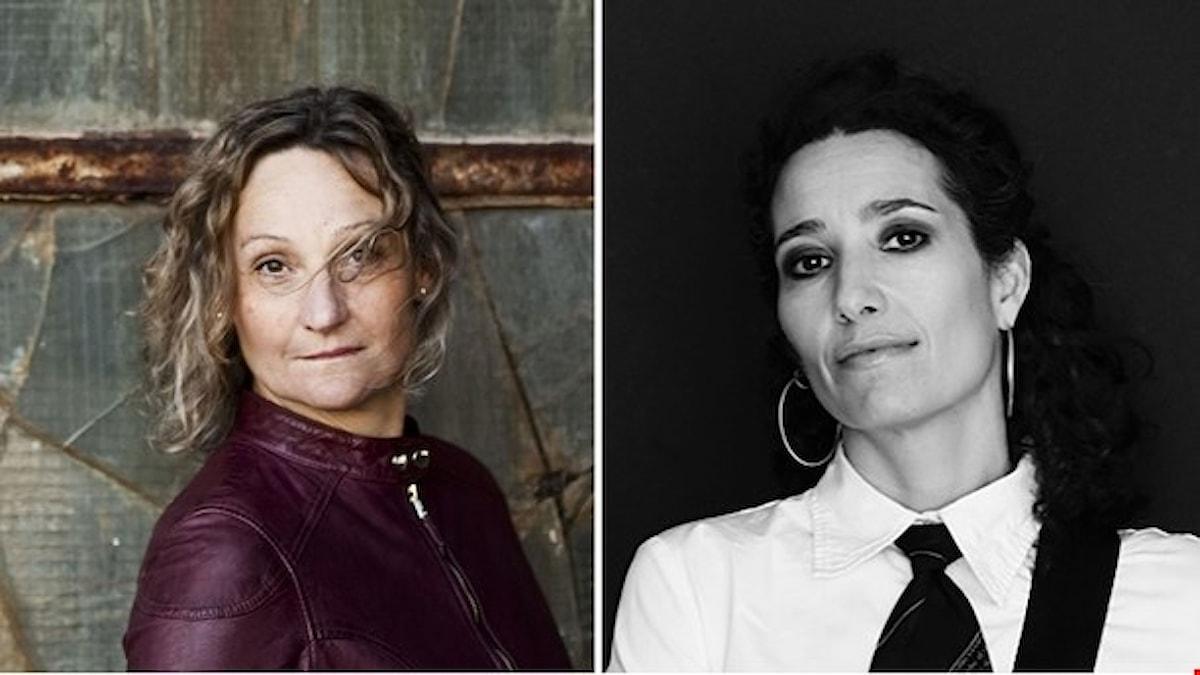 Marie Samuelsson och Trinelise Væring. Foto: Mats Bäcker och Tuala Hjarnø.