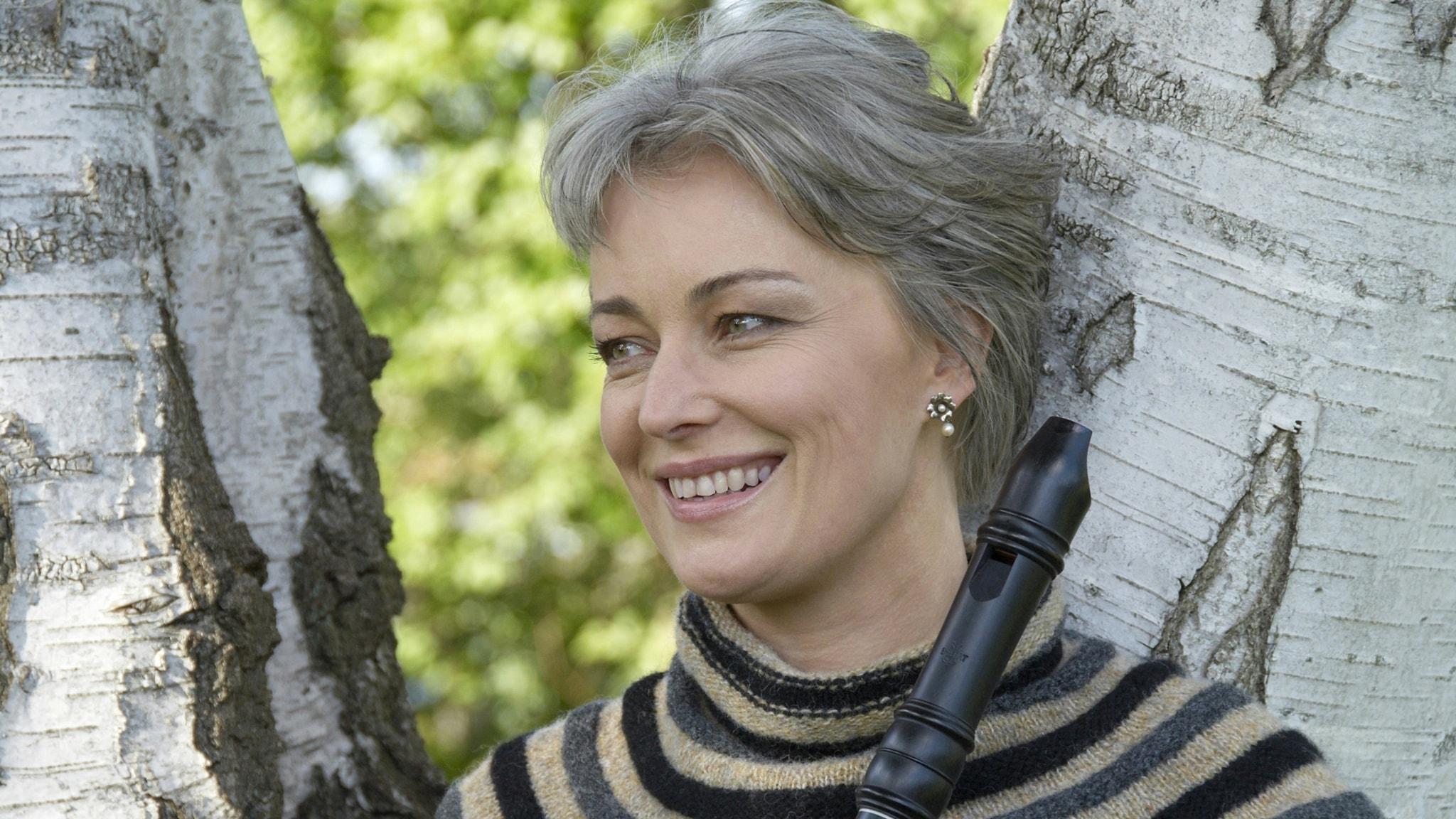 Världsartisten Michala Petri, femtio år i blockflöjtens tjänst