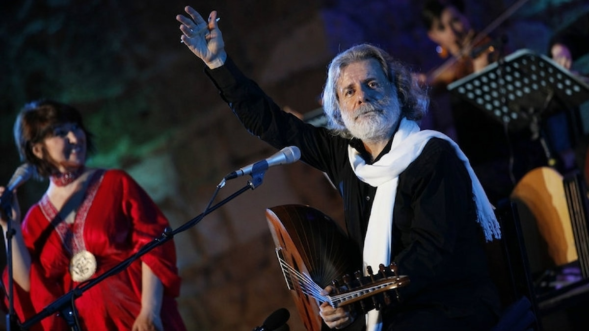Libanesiske oud-spelaren Marcel Khalife. Foto: www.marcelkhalife.com