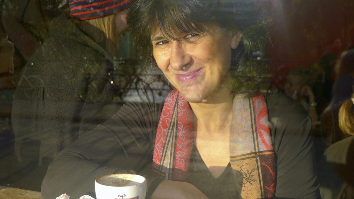 Författaren, dramatikern och librettisten Kerstin Perski. Foto: Alexander Perski