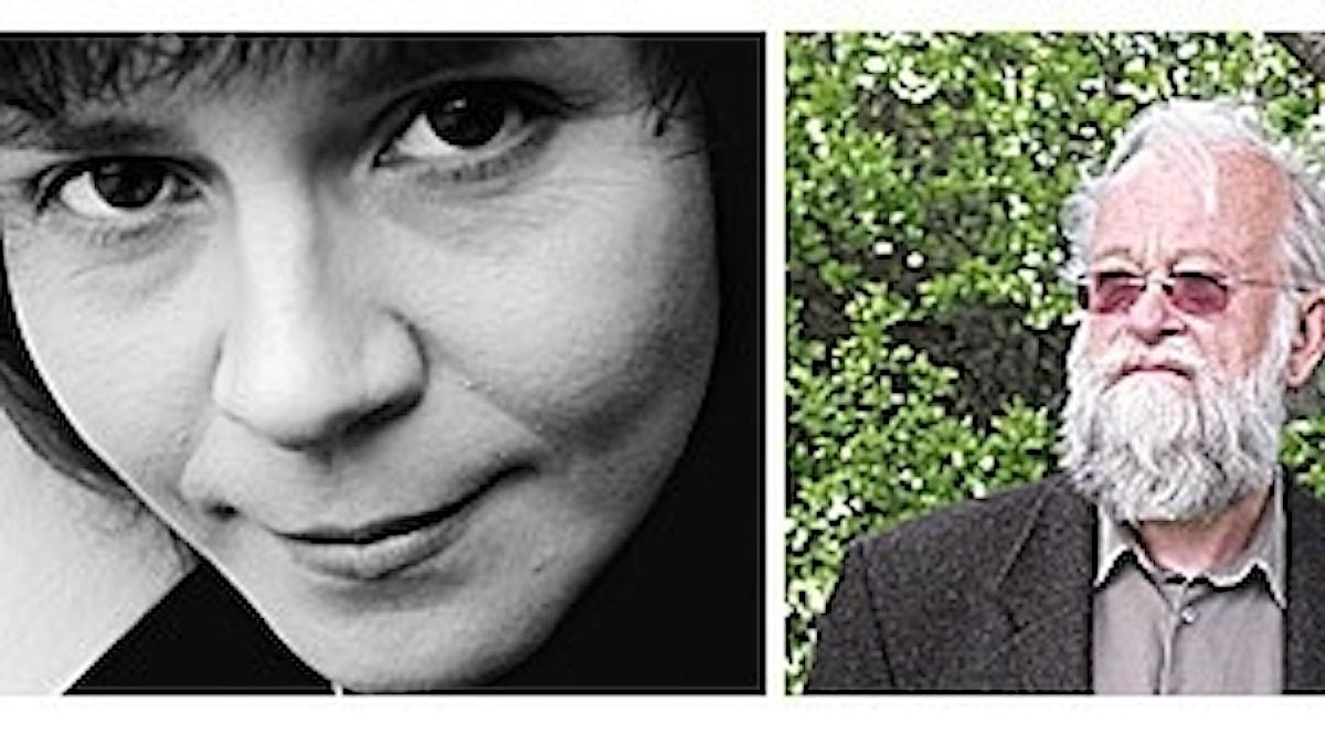 Tonsättarna Victoria Borisova-Ollas och Daniel Börtz. Foto: Martina Holmberg / Privat