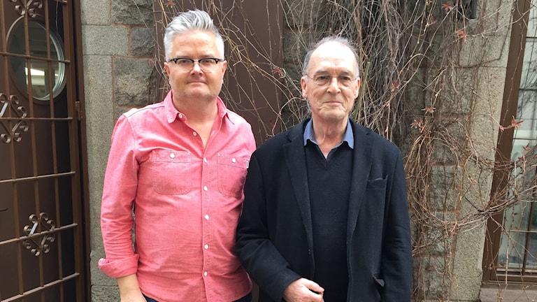 Jan Gradvall och Bernt Rosengren.