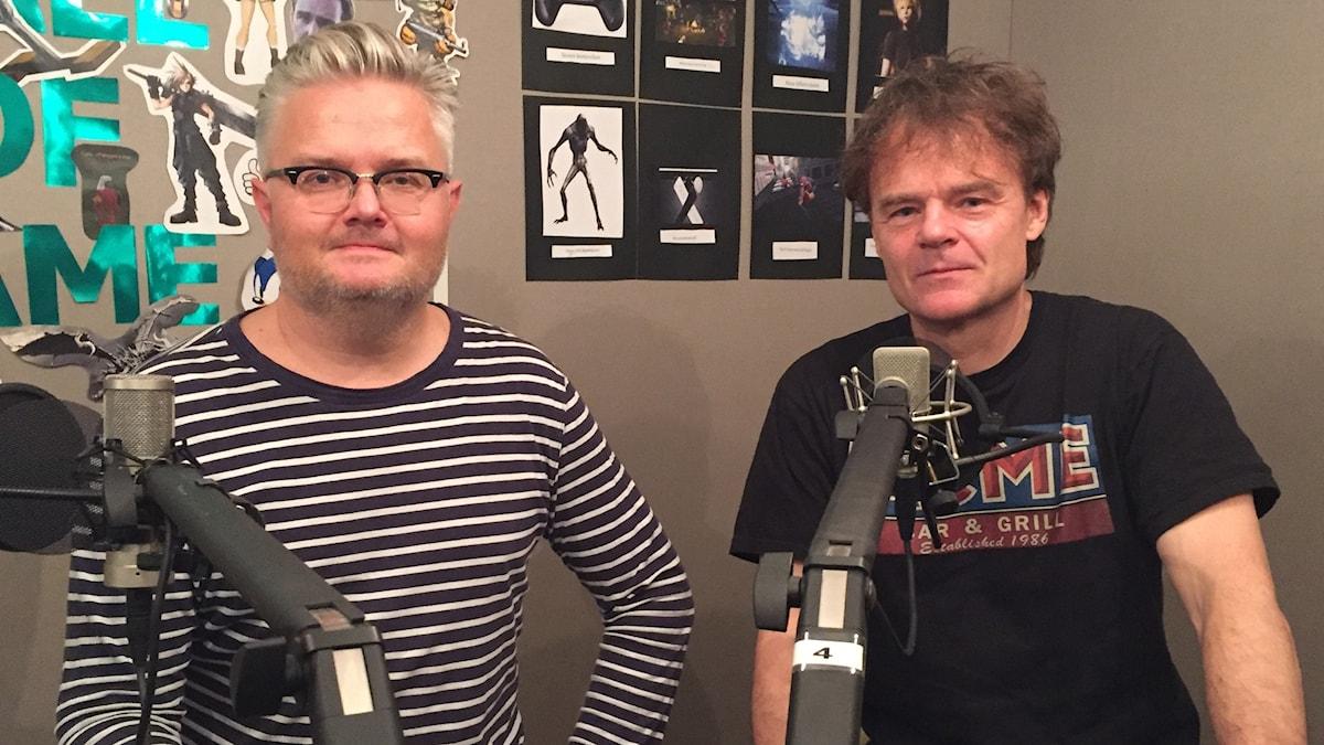 Jan Gradvall och Nisse Hellberg.