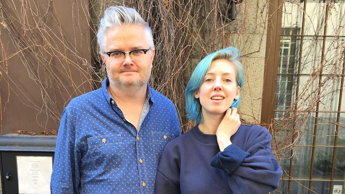 Jan Gradvall och Veronica Maggio.