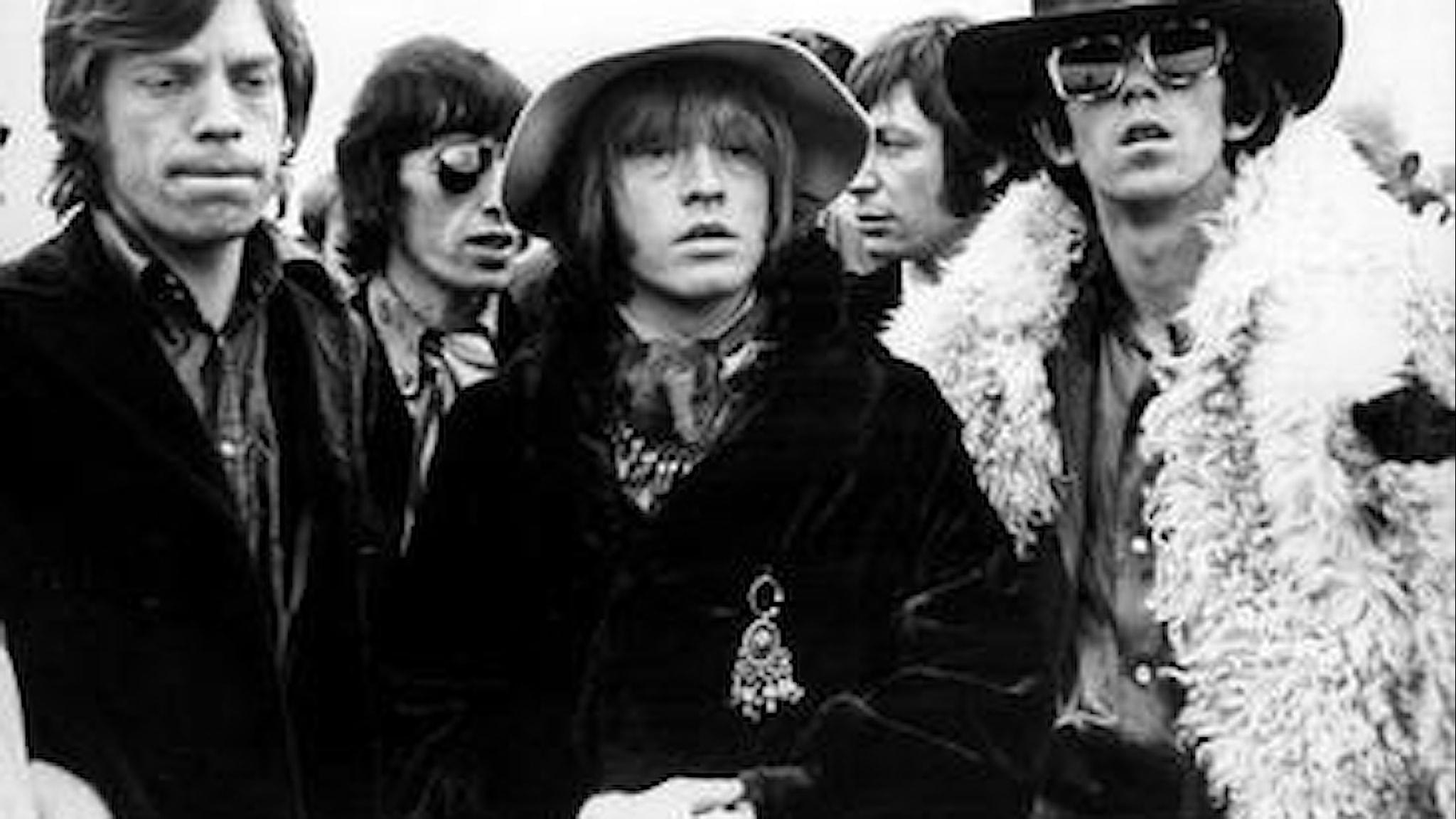 Rolling Stones, stilikoner? SVT Bild