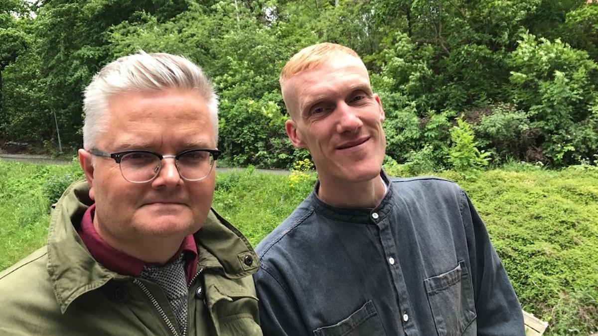 Jan Gradvall och Björn Nilson, Kapten Röd.