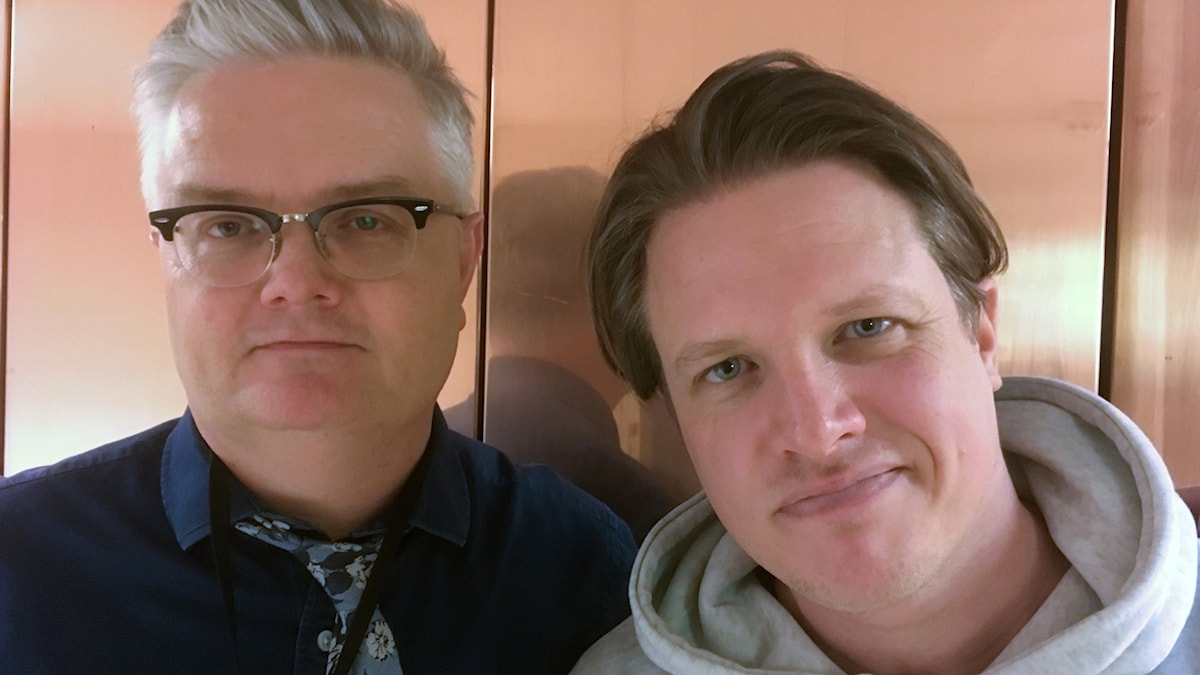 Jan Gradvall och Robban Pettersson