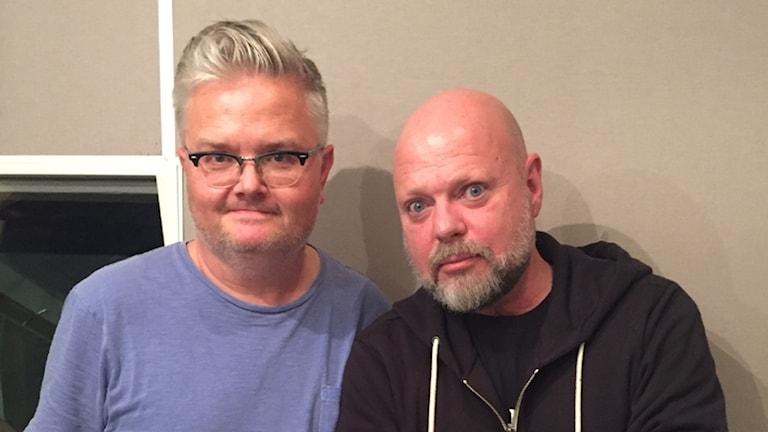Jan Gradvall och Peter LeMarc.
