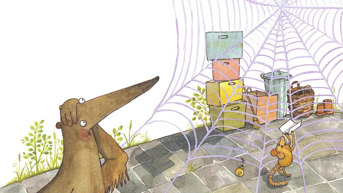 Konstigadjur, del 4. Illustration: Maria Nilsson Thore