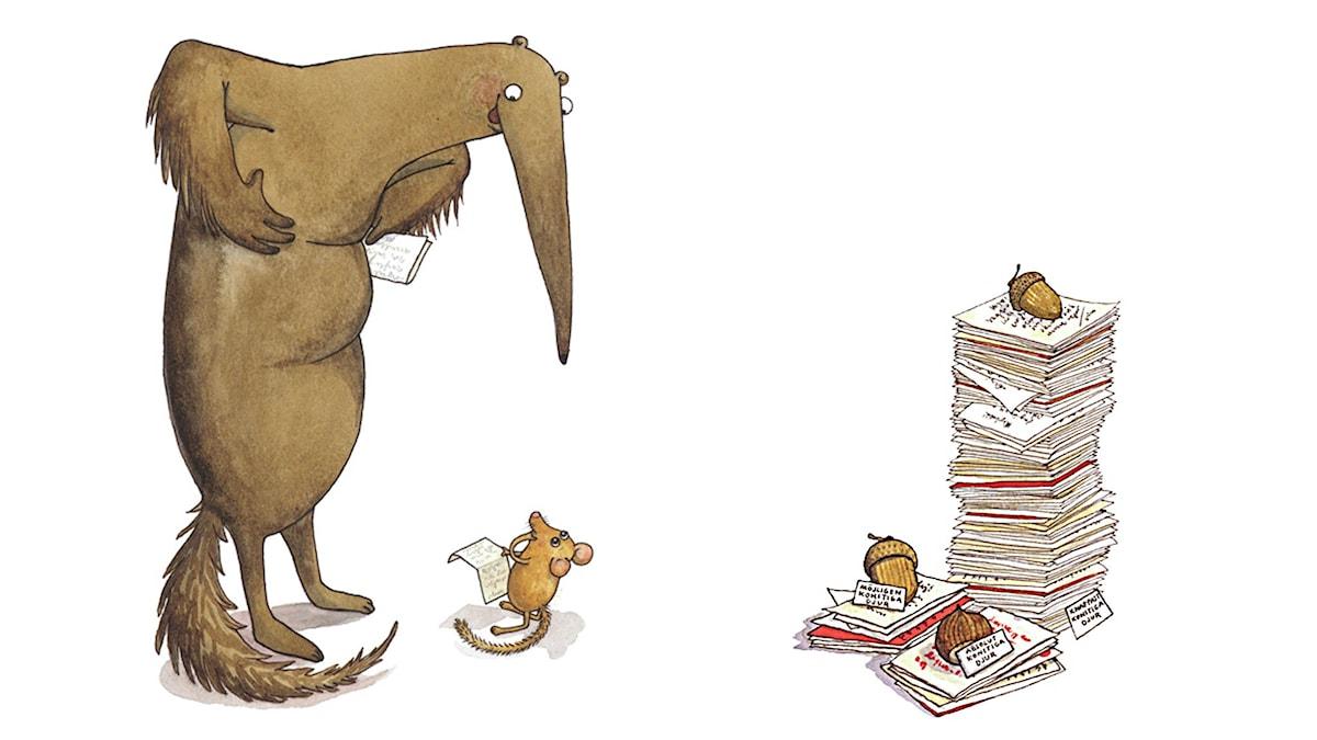 Konstigadjur, del 5. Illustration: Maria Nilsson Thore