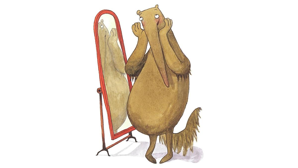 Konstiga djur, del 7. Illustration: Maria Nilsson Thore