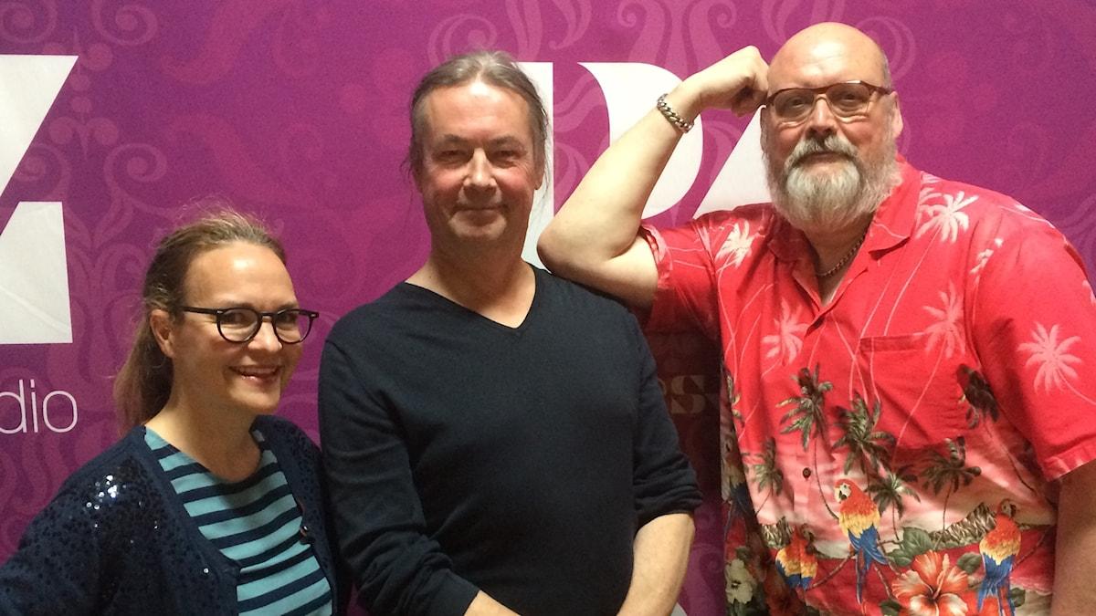 Elin Ek, Leif Hedegärd och Ronny Svensson