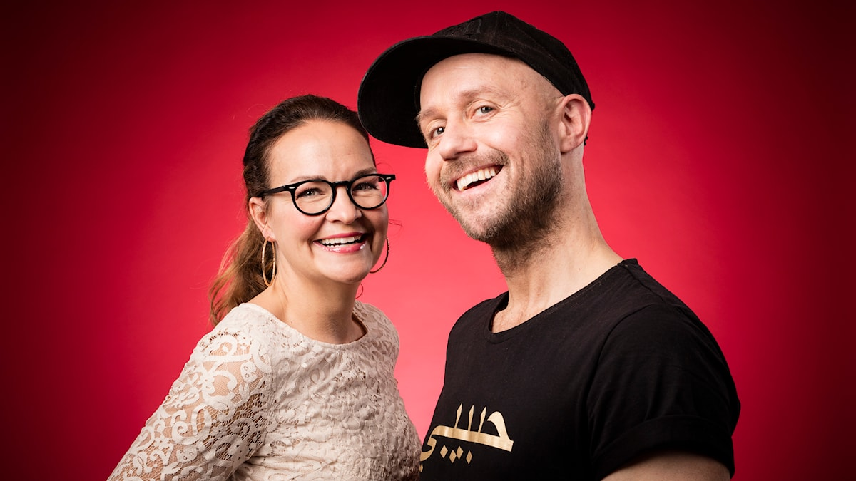 Elin Ek och Apollo Asplund. Foto: Micke Grönberg/Sveriges Radio.
