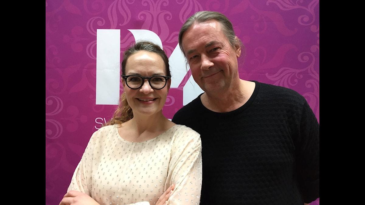 Elin Ek och Leif Hedegärd