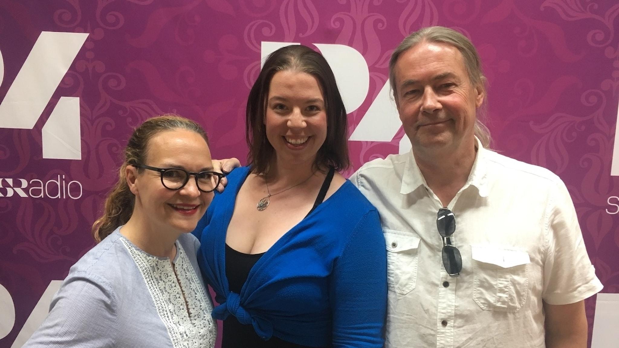 Elin Ek, Linnea Molander och Leif Hedegärd
