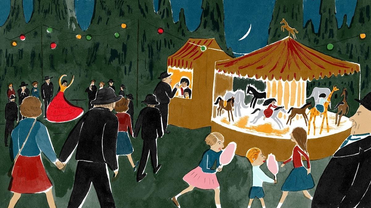 Katitzi del 8. Illustration: Joanna Hellgren.
