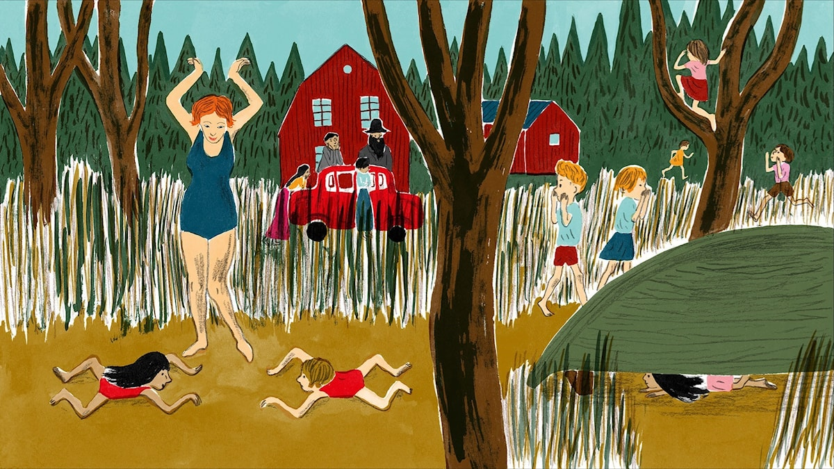 Katitzi del 2. Illustration: Joanna Hellgren.