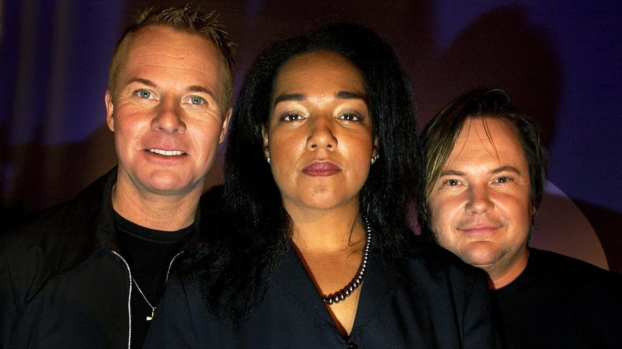Popgruppen Style: Christer Sandelin, Gigi Hamilton och Tommy Ekman