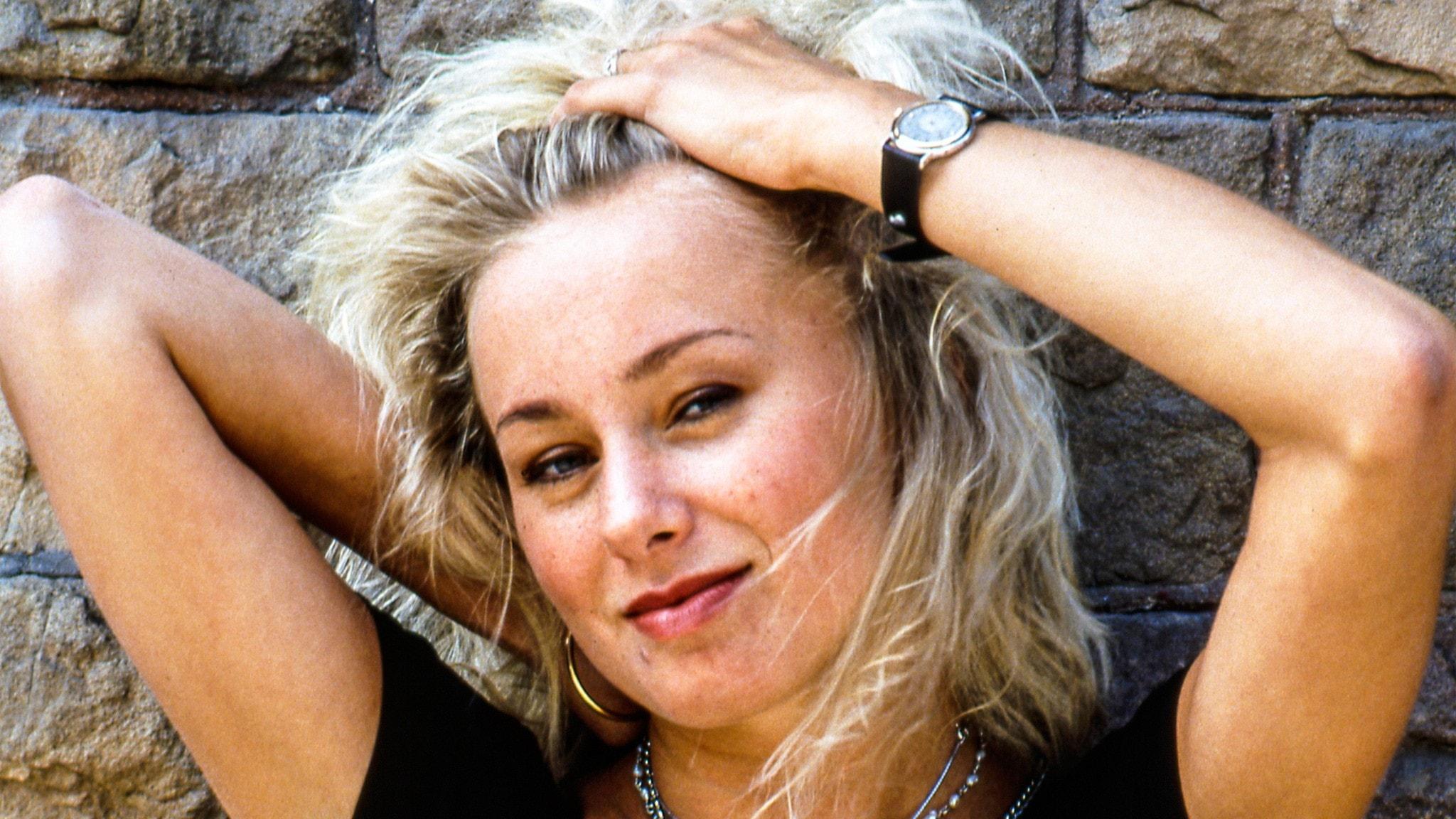 Louise Hoffsten från 1990