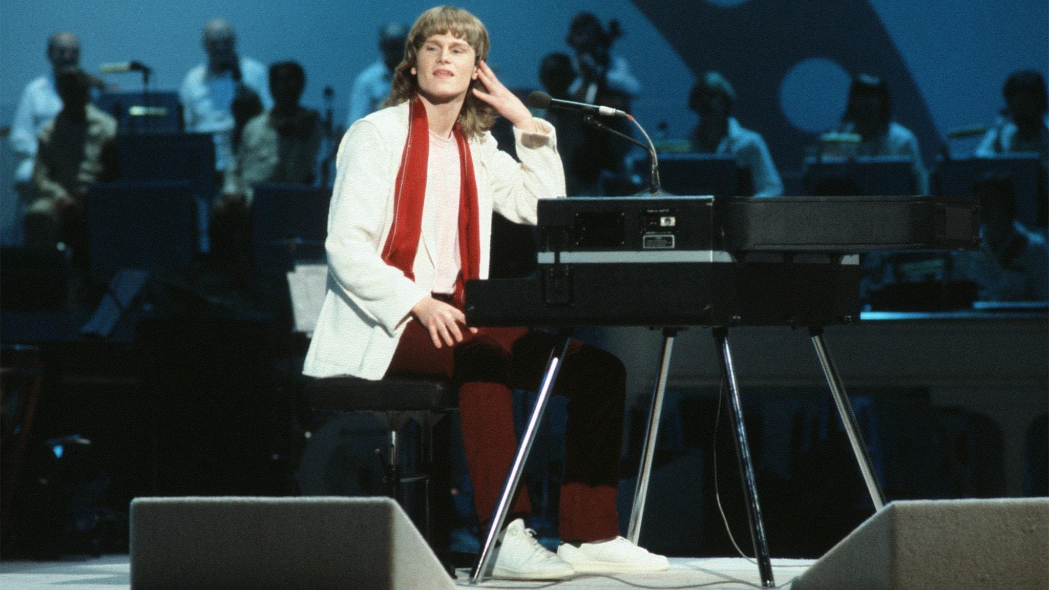 Ted Gärdestad från Melodifestivalen 1979.