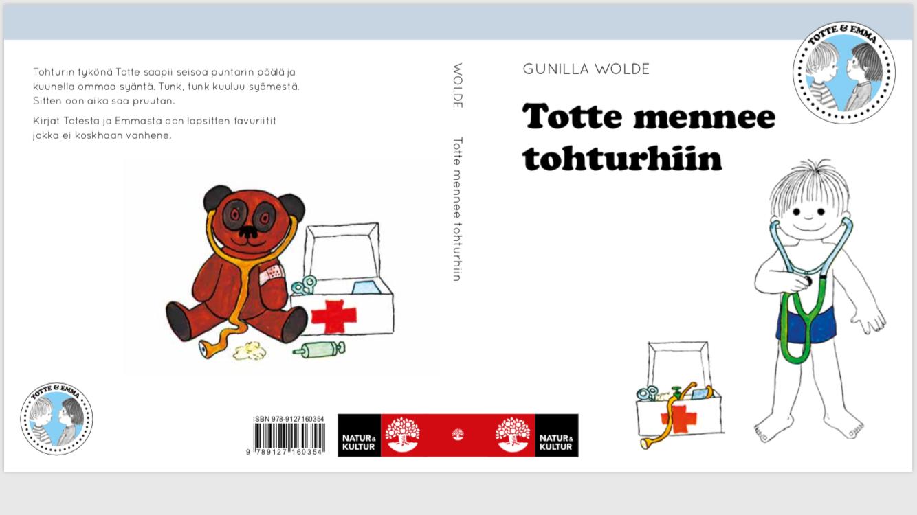 Meän Kläpit - TOTTE MENNEE TOHTURHIIN - TOTTE GÅR TILL DOKTORN