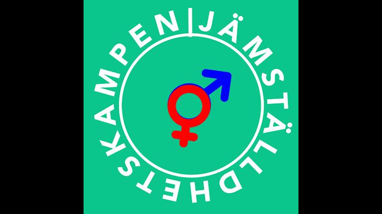 Один из символов борьбы за гендерное равноправие. Фото: Alexander Djordjevic / Sveriges Radio