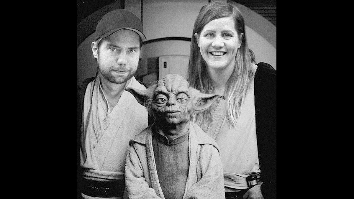 Emma, Rasmus och Yoda