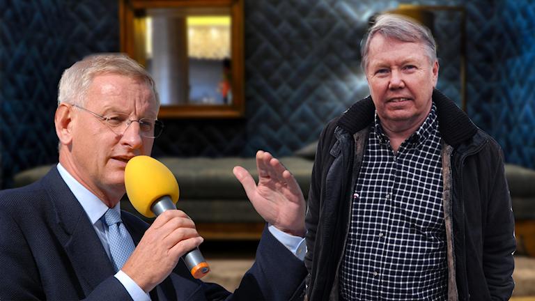 Carl Bildt och Bert Karlsson