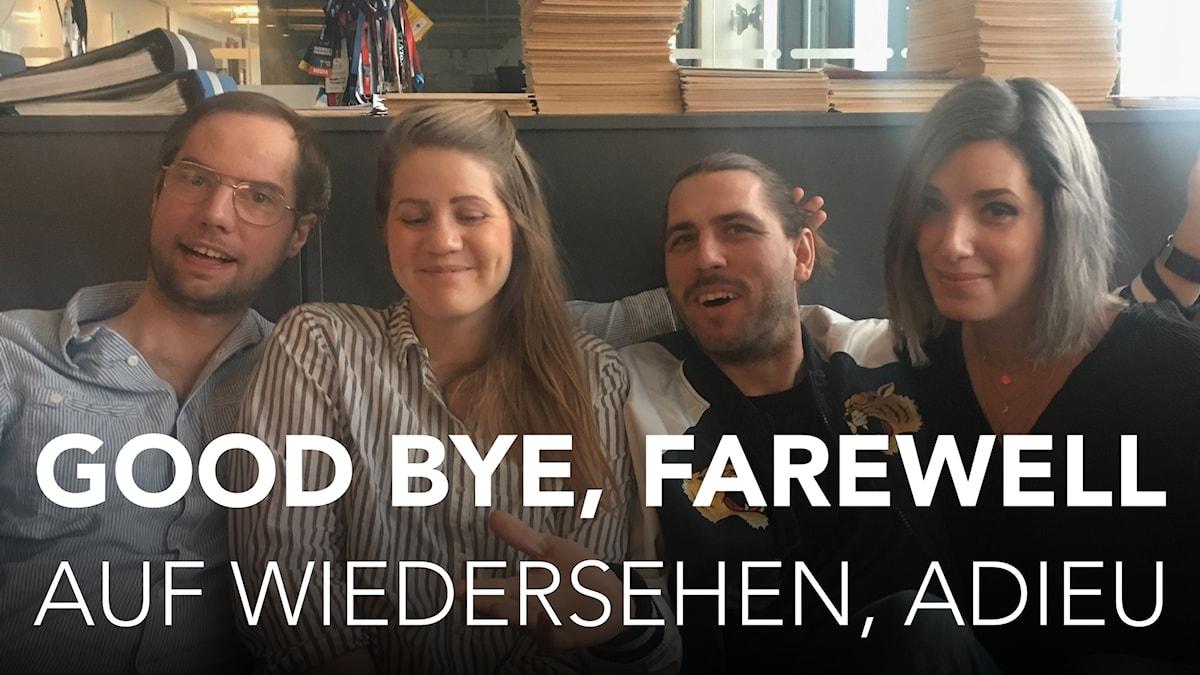 auf wiedersehen, adieu