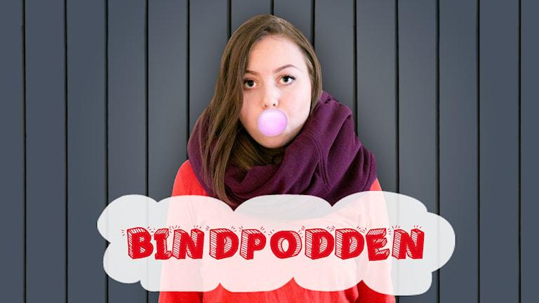 Linda Ulfhielm, bindpodden. Foto: Helena Andersson/Sveriges Radio
