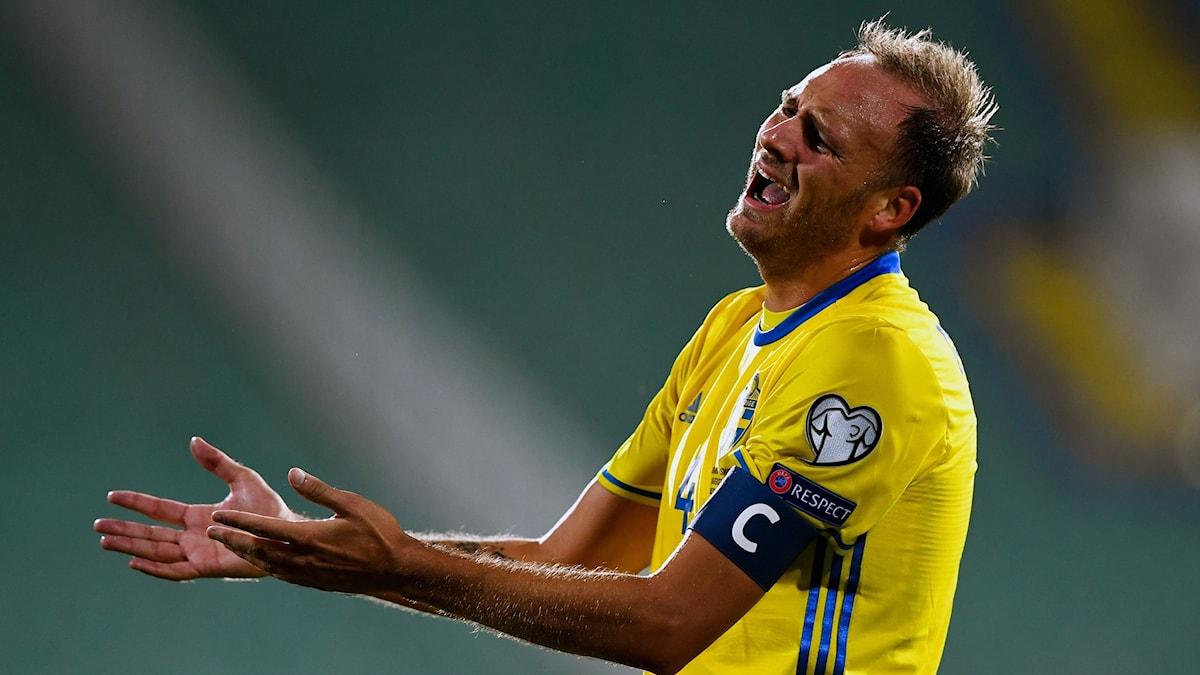 Fotbollslandslagets lagkapten Andreas Granqvist