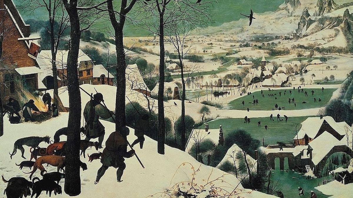 Jägarna i snön / Pieter Bruegel d.ä