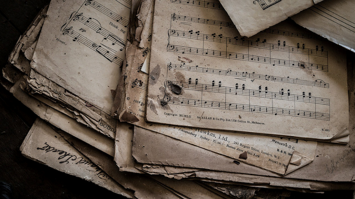 Försvunnen musik