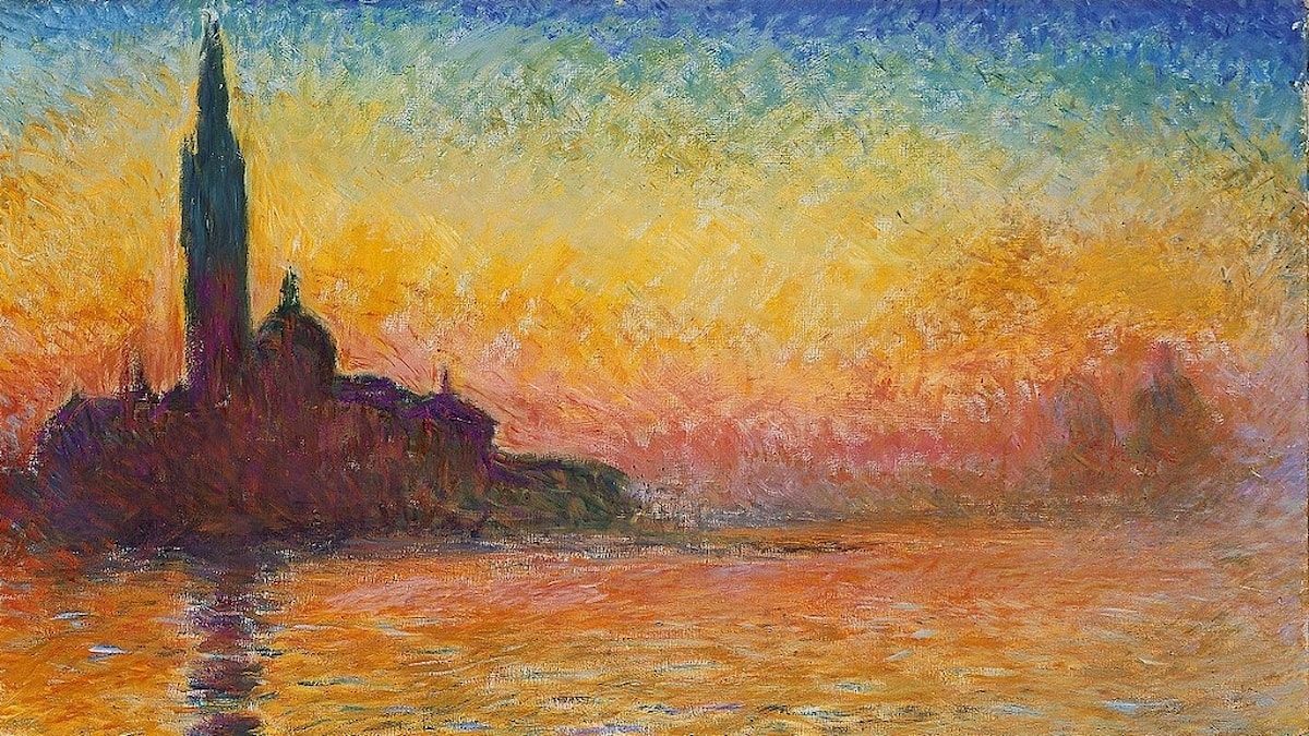 Saint-Georges majeur au crépuscule