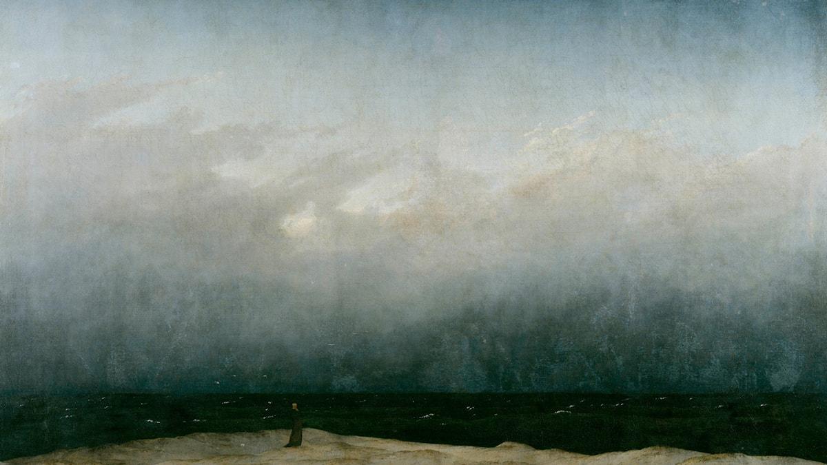 Der Mönch am Meer av Caspar David Friedrich