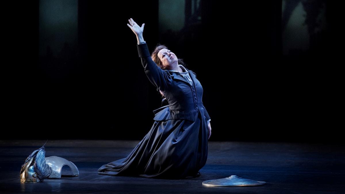 Nina Stemme i Siegfried på Kungliga Operan