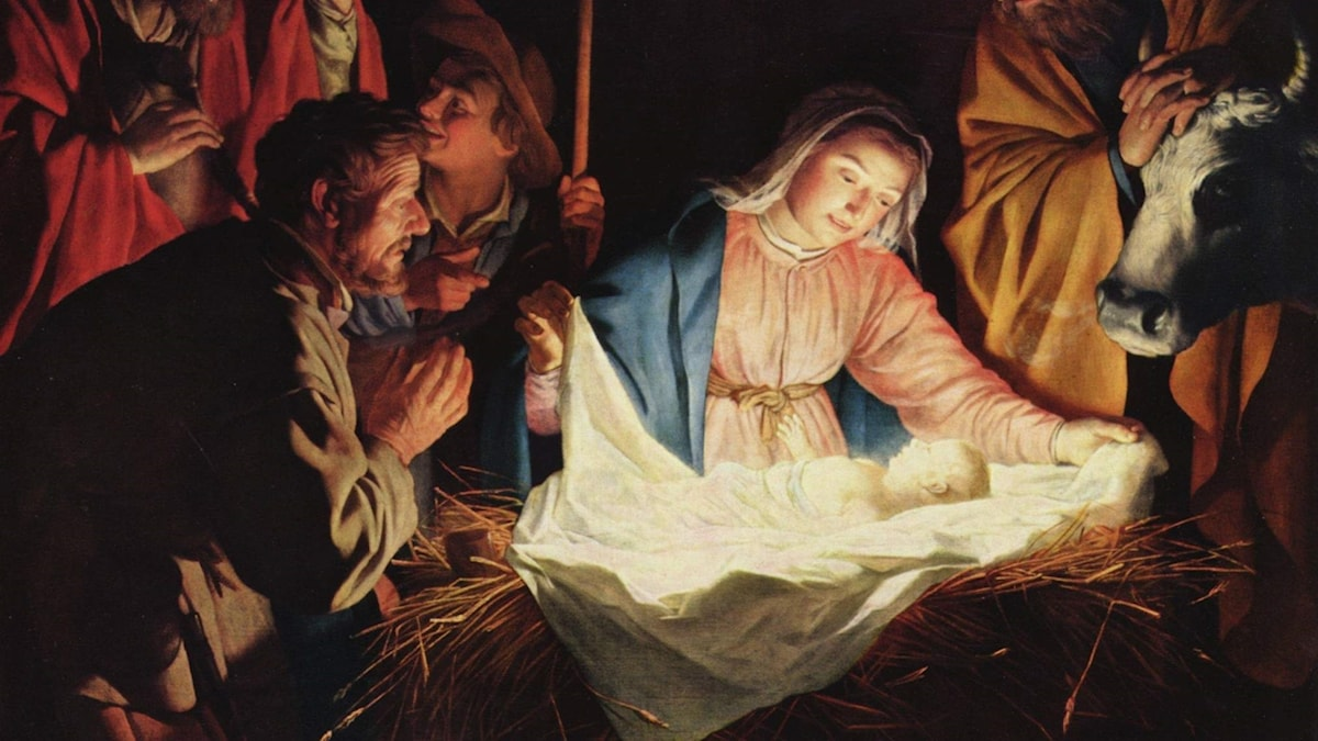 The Adoration of the Shepherds / Gerard van Honthorst